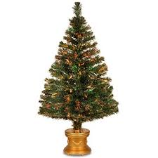 48 inch fiber optic radiance fireworks tree with gold base free