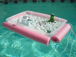floating table for pool the 1 99 noodley beverage boat