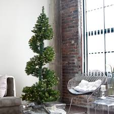 Pre Lit Topiary Christmas Tree Decorating Ideas Christmas Tree Id Hayneedle Com