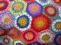 How To Crochet A Rug Out Of Yarn Attic24 Hexagon How To
