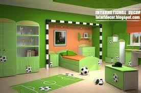 Elegant Football Room Decor Modern Football Bedroom Theme Design - Football bedroom ideas
