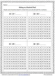 math hundreds chart 29 best math 100 chart images on hundreds chart
