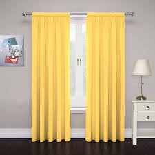 Navy Blackout Curtains Curtain Yellow And Gray Curtains Walmart Lemon Yellow Curtains
