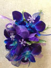 blue orchid corsage blue orchid in cherry hill nj flower boutique