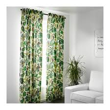 Curtains 145 Cm Drop Ikea Syssan Curtains 1 Pair The Liners Make The Curtains Filter