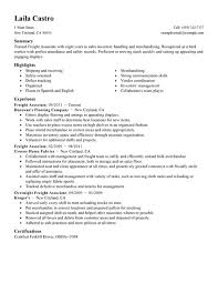 perfect sales resume best sales freight associate resume example livecareer
