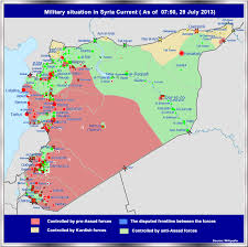 Palmyra Syria Map by The Biggist Fear Of Chemical Weapons In Syria