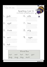 89 best spelling worksheets by grade images on pinterest