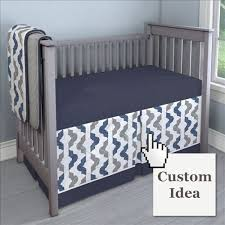 Denim Crib Bedding Quatrefoil Crib Bedding Carousel Designs