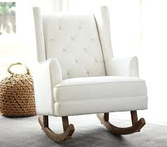 Rocking Chair Ottoman Rocking Chair With Rocking Ottoman White Upholstered Rocking Chair