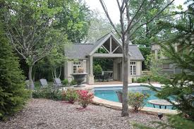 st louis pool house design poynter landscape