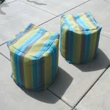 Covers For Ottomans Sunbrella Pouf Ottoman Jessicastable Co