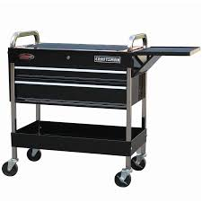 furniture rolling tool cart with kobalt tool chest and walmart