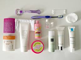 travel toiletries images What 39 s in my travel toiletries bag thegirlinspired jpg