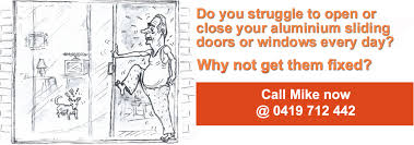 sliding glass door repairs brisbane home trouble sliding doors and windows