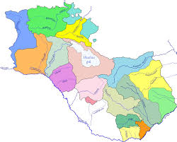 Utd Map File Rivers Of Armenia And Artsakh Png Wikimedia Commons