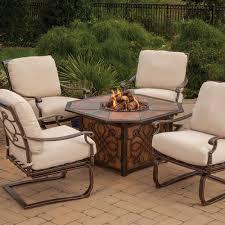 Agio Outdoor Patio Furniture by Agio Vista Gas Fire Pit