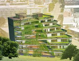 terraced building design a standout among urban growth seattlepi com