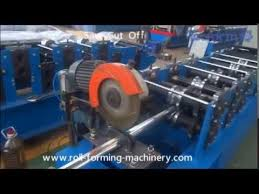 Awning Roller Tube Awning Roller Blind Tube Roll Forming Machine Youtube