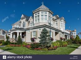 new jersey house luxury beach house stone harbor new jersey usa stock photo