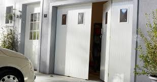 comment poser une porte de chambre porte de garage sectionnelle avec comment poser porte fenetre pvc