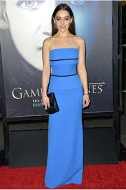 clarke blue strapless celebrity inspired dresses for sale games of