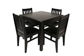 black kitchen table set kitchens design