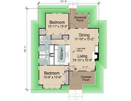 hip cottage sf southern cottages 2bdrm porches rev floor plan idolza