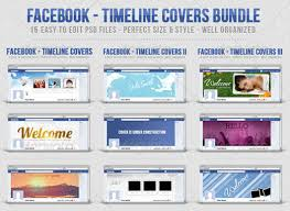 60 high quality facebook timeline cover psd templates web