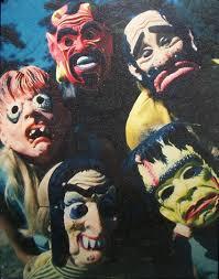 vintage halloween masks halloween pinterest