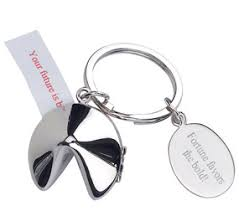 silver fortune cookie gift personalized wedding gifts and unique party favors hansonellis