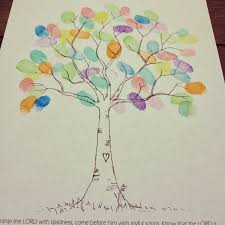 be brave keep going easy fingerprint tree craft for kids