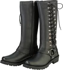 womens motorcycle riding boots z1r womens savage waterproof leather motorcycle riding boots ebay
