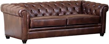 Durable Leather Sofa One Royal 86 Tufted Leather Sofa Chestnut Sofa Sofa