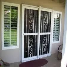 Security Patio Doors Patio Door Security Bar Security Bars For Sliding Glass Doors