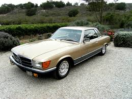 mercedes classic sold 1981 mercedes benz 500slc homologation coupe scott