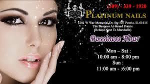 platinum nails in peoria il 61615 phone 309 339 1920 youtube