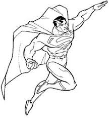 superman kids coloring pages free colouring pictures print