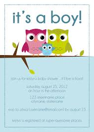 baby shower invitations for boys template printable invitations