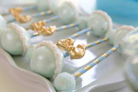baby rattle cake pops cake pop baby rattles from blue gold baby shower at kara s party