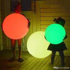 floating pool ball lights discount rgb led floating magic ball led illuminated swimming pool