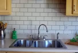 kitchen backsplash subway tiles kitchen breathtaking kitchen backsplash faux tile backsplash