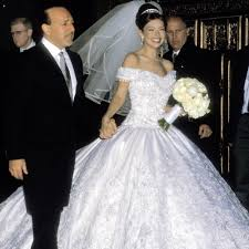 thalia and tommy mottola u0027s wedding pictures popsugar latina