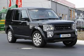 land rover mitsubishi facelifted 2014 lr4 spied again the land rover center