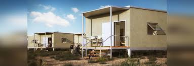 hex house is an affordable rapidly deployable solar home for