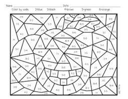 free worksheets pumpkin color number free math worksheets