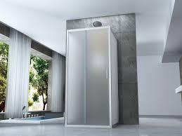 doccia facile box doccia cristallo 6 mm 3 lati due fissi piu porta scorrevole