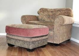 Tufted Chair And A Half Ottoman Chair And Half With Ottoman Signature Design By Banner A