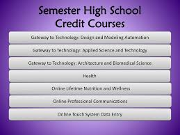 online health class for high school credit timberview middle school registration ppt