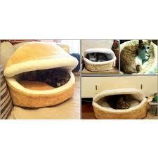 hamburger cat litter kitten nest detachable cat nest warm soft cat